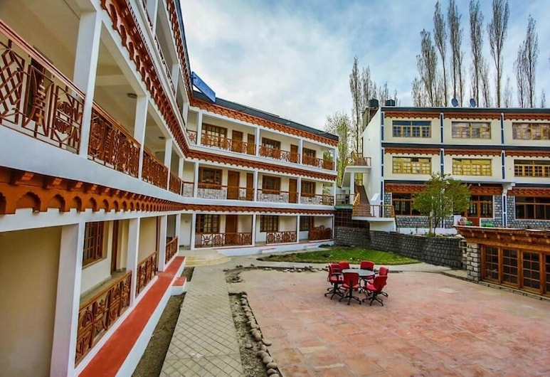 Hotel Abu Palace, Leh, Façade de l'hôtel