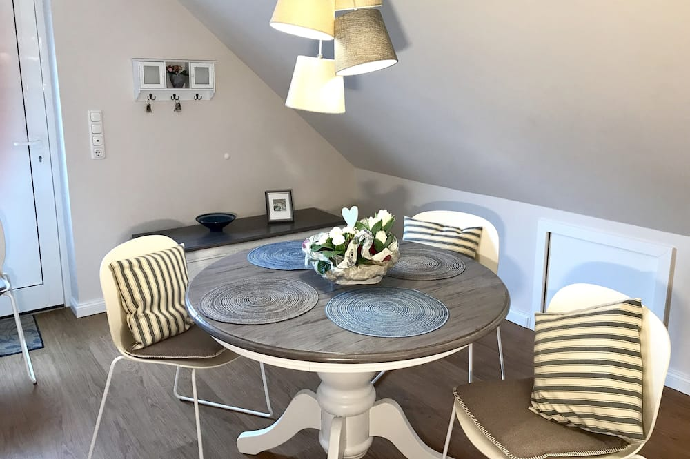 公寓, 2 間臥室, 露台 (Inselfeeling) - 客房內用餐