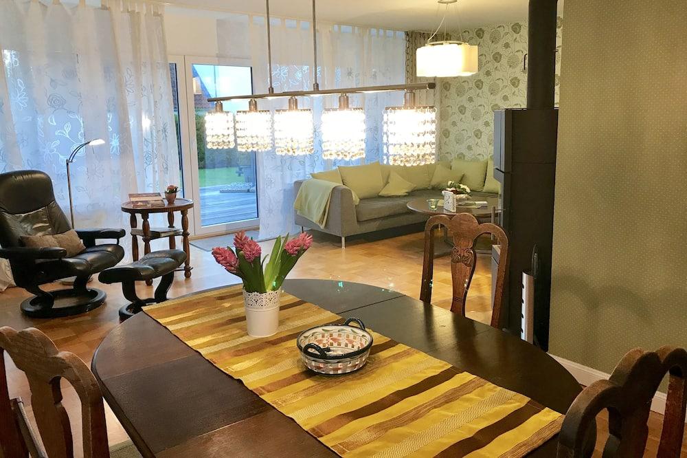 公寓, 2 間臥室, 露台 (Blütenrausch) - 客廳