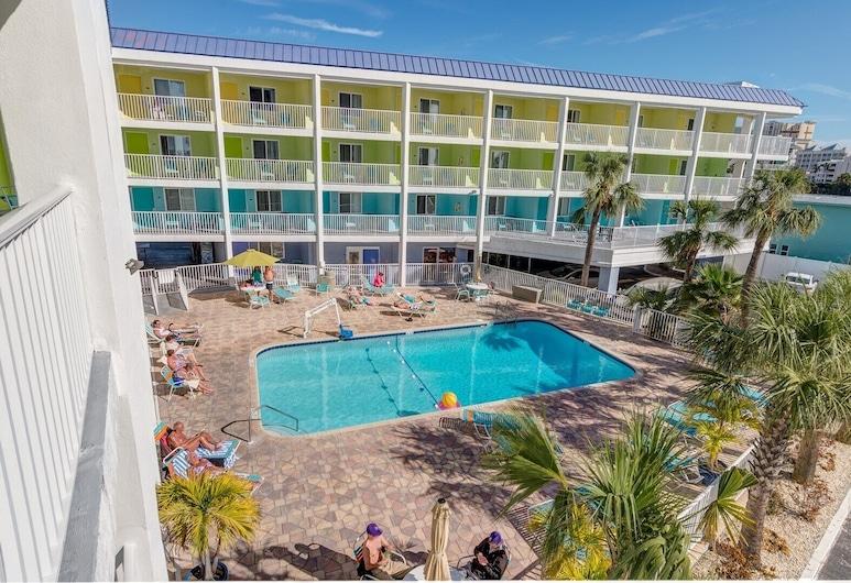 Edullinen tehokkuus Clearwater Beachin sydämessä # 414 - Paras hinta rannalla!, Clearwater Beach, Uima-allas