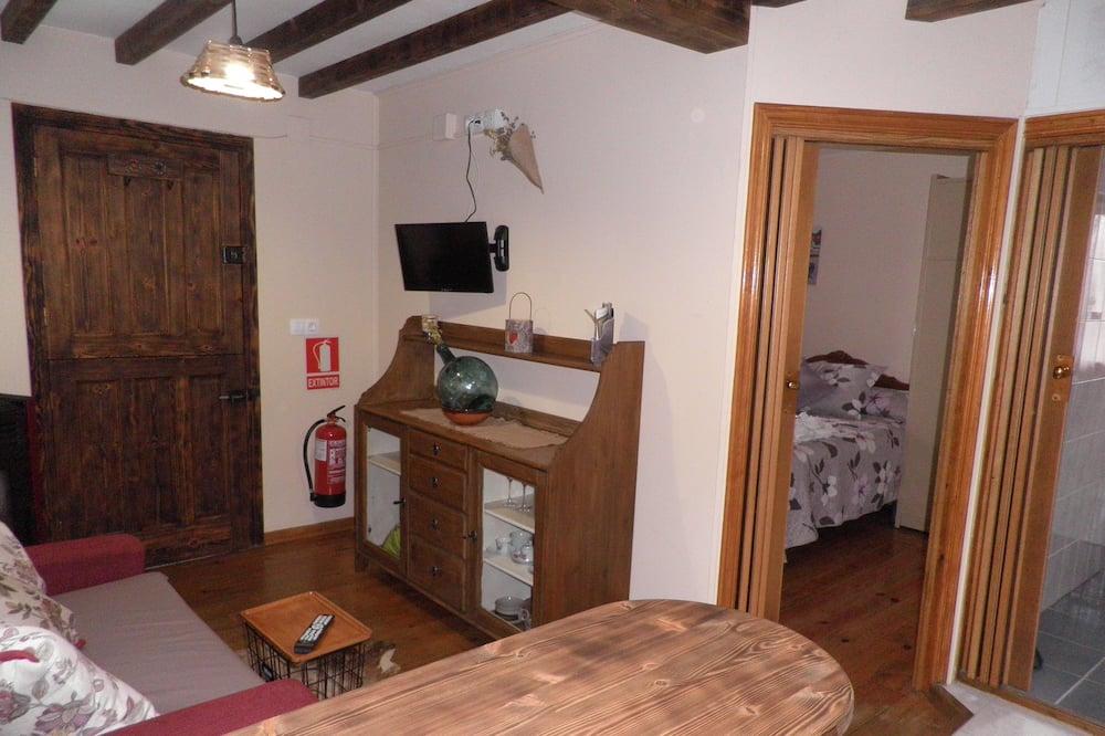 Apartmán, 1 ložnice (Miruella) - Obývací prostor