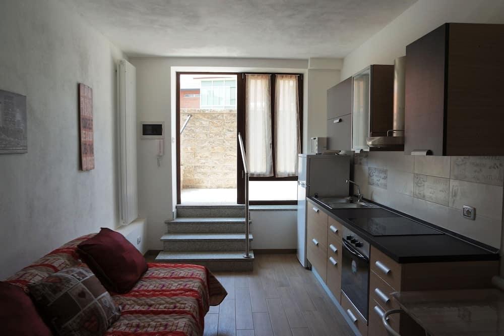 Komforta dzīvokļnumurs, viena guļamistaba - Dzīvojamā zona