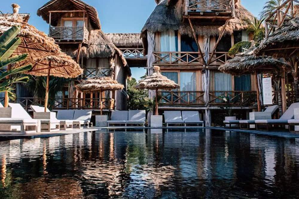 Výhled na vodní plochu
