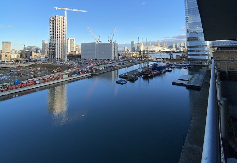 HOMMEY Apartments - Canary Wharf, London, Apartment, 1 Double Bed with Sofa bed (MP-1111), Water view