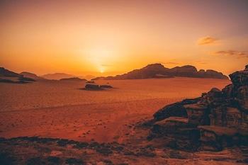 Bild vom Wadi Rum Info im Wadi Rum