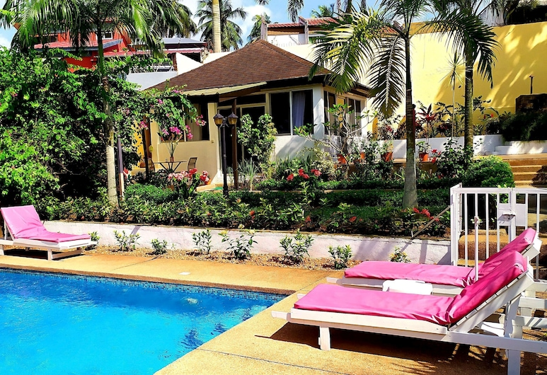 Villa Oasis Abidjan, Abiyán, Terraza