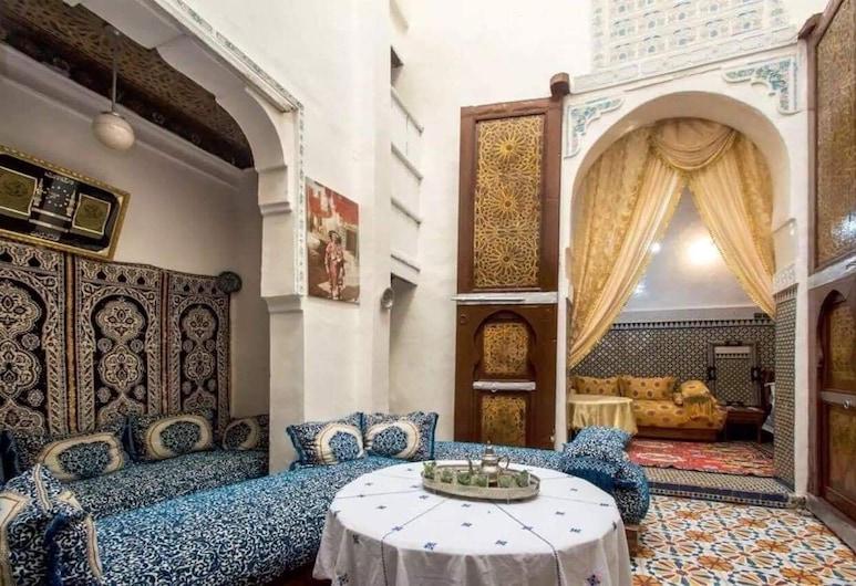 Riad Family Samnoun, Fes, Área de estar (saguão)
