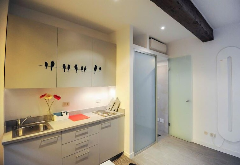 Brera 6 Apartment, Milaan, Studio, Privékitchenette