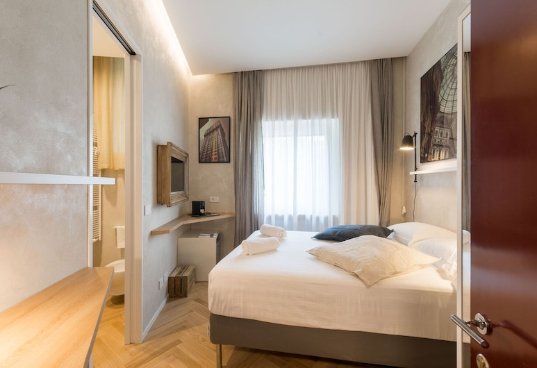 두오모 디럭스, 밀라노, 아파트, 침실 1개, 객실