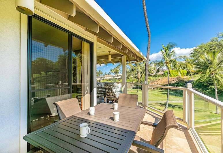 Grand Champions Three Bedrooms by Coldwell Banker Island Vacations, Kīhei, Apartment, 3 Schlafzimmer, Balkon