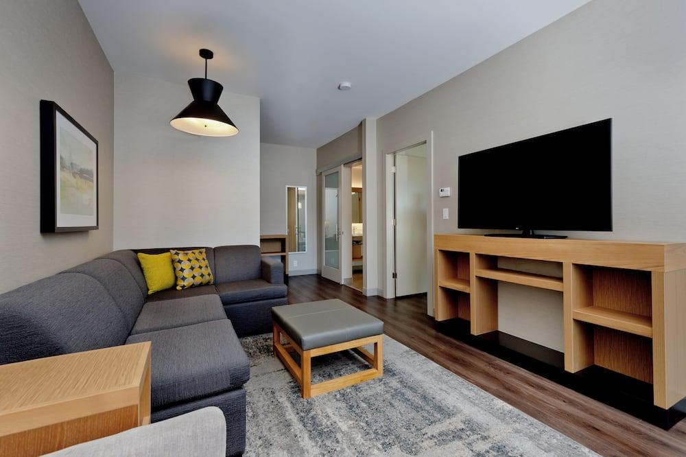 Suite, 1 Bedroom, Accessible (Shower) - Ruang Tamu