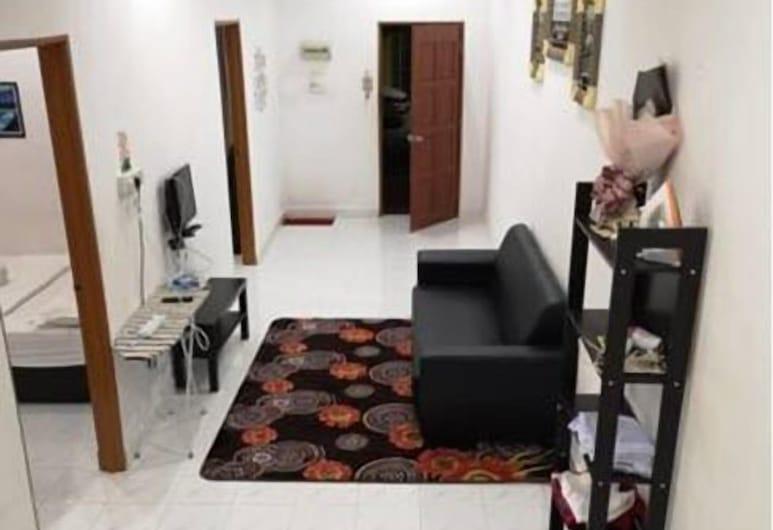 Aulia Homestay, Langkawi, Standard Ev (Queen Room), Oturma Odası