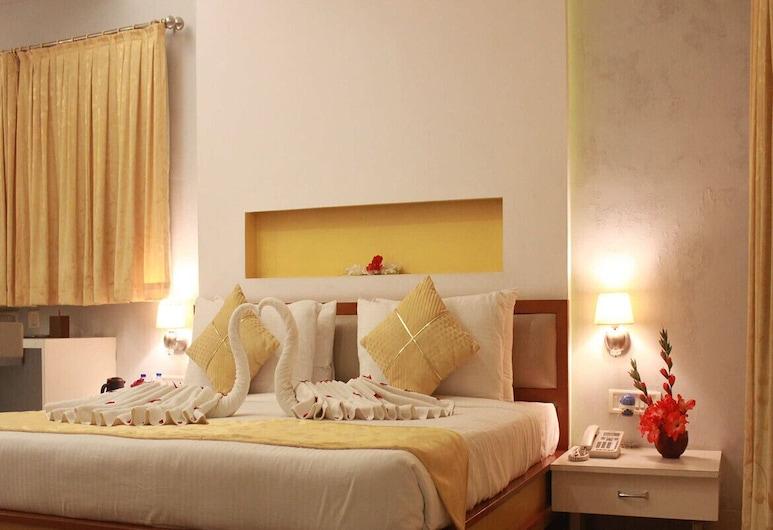 Hotel Golden Leaf Resort, Jamshedpur, Deluxe Room, Guest Room
