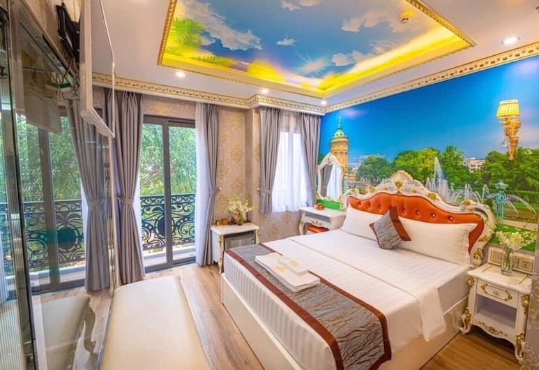 7S Hotel Cuong Thanh 3 Ho Chi Minh, Ho Chi Minh City, Apartament luksusowy typu Studio, jacuzzi, Pokój