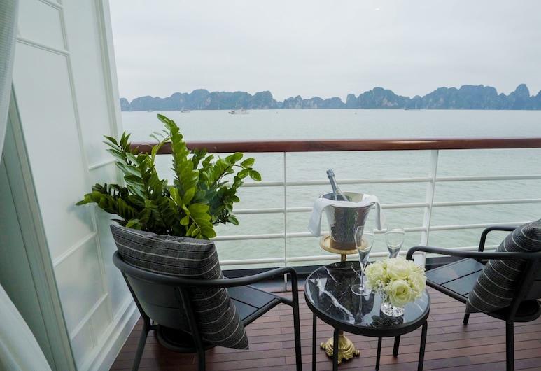 Paradise Grand Cruise, Ha Longas, Ištaigingo stiliaus trobelė, balkonas (Executive), Balkonas