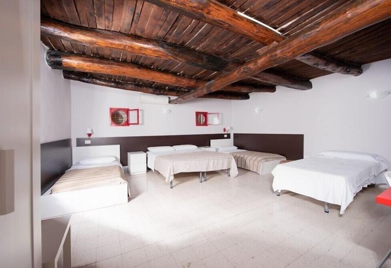 Napoli Experience, Napoli, Rom – family, balkong, Gjesterom