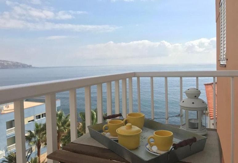 舒適角落公寓飯店 - 第一線海景, Candelaria, 公寓, 1 間臥室, 露台景觀