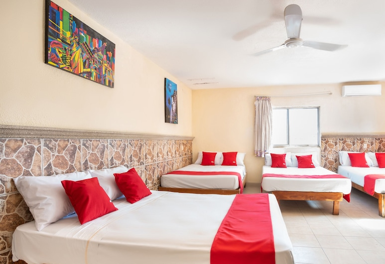 OYO San Jorge, Cancun, Family Room, Guest Room