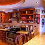 Pagerinto tipo kambarys - Bendra virtuvė