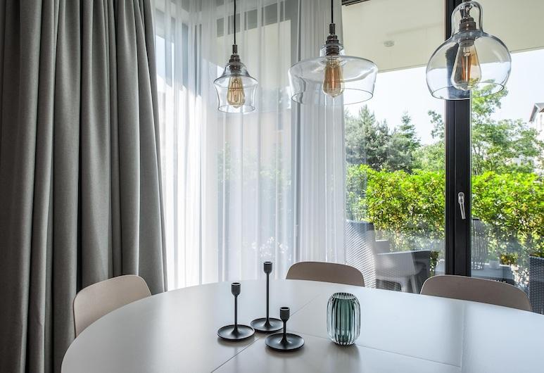 Lion Apartments - COMO Okrzei Residence, Sopot, Deluxe Apartment, Living Room