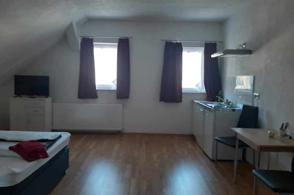 דירה, מיטת יחיד רחבה - אזור מגורים