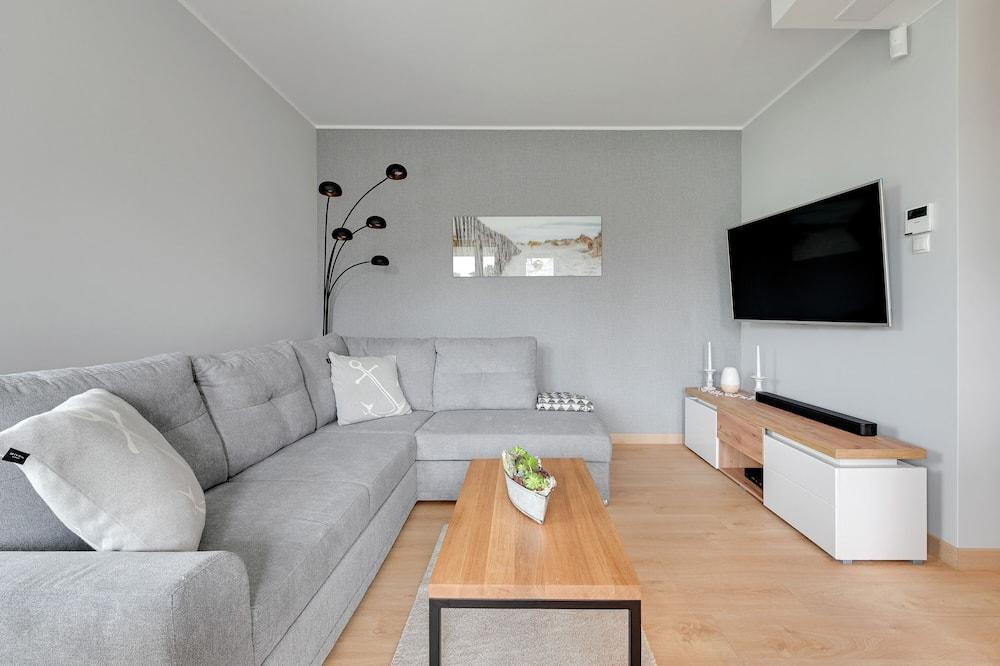 Apartamentai šeimai - Svetainės zona