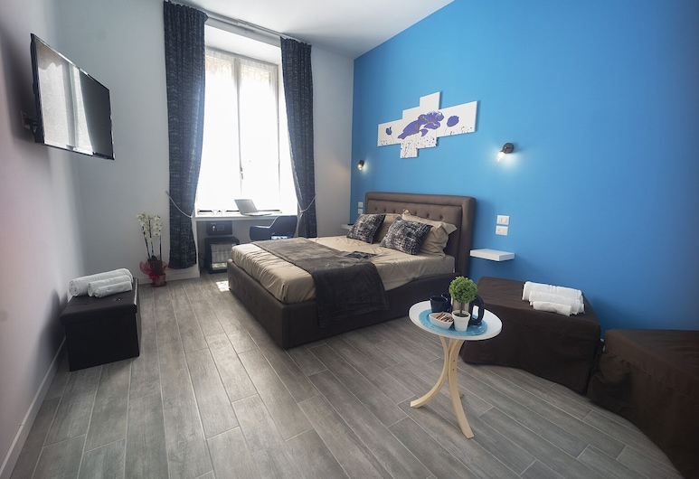 Roma Centrale Fidelis, Rome, Luxury Quadruple Room, Guest Room