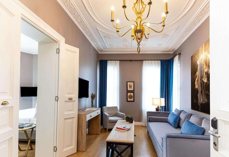 Petros Hotel, Estambul, Suite Premium, Sala de estar