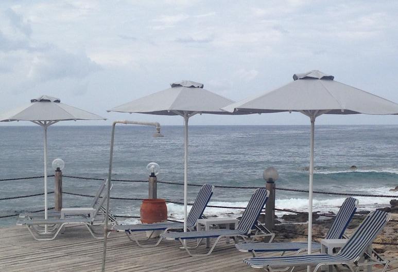 Palm Beach Hotel Sudkreta, Ierápetra, Terraza
