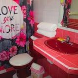 Gazdaságos szoba, több ágy, privát fürdőszoba - Fürdőszoba