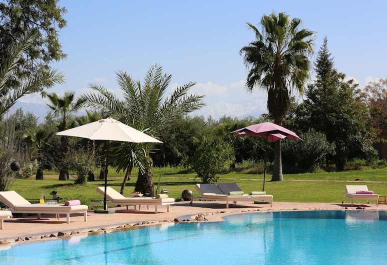Villa With 7 Bedrooms in Marrakech, With Private Pool, Enclosed Garden and Wifi, Marrakech, Pool