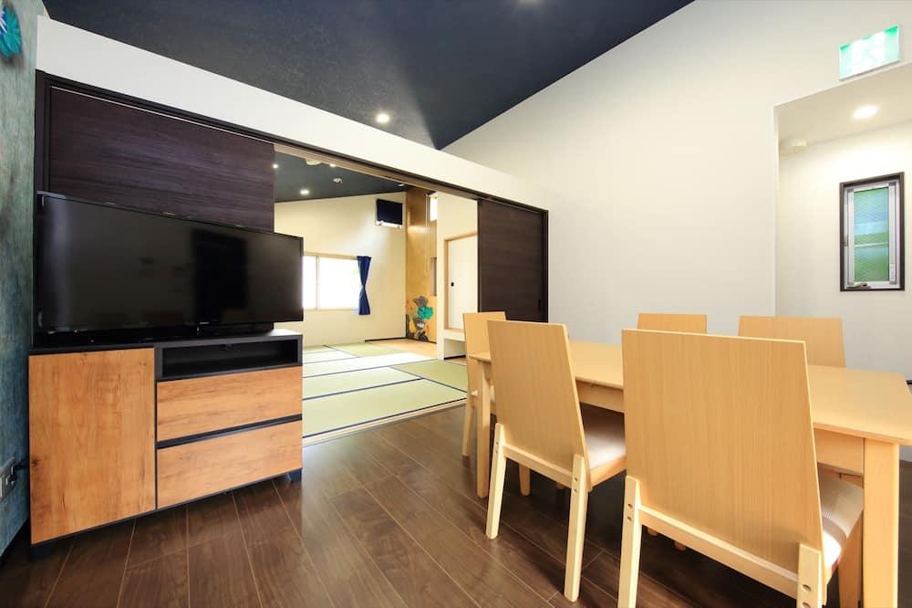 1 ベッドルーム アパートメント - 室内のダイニング
