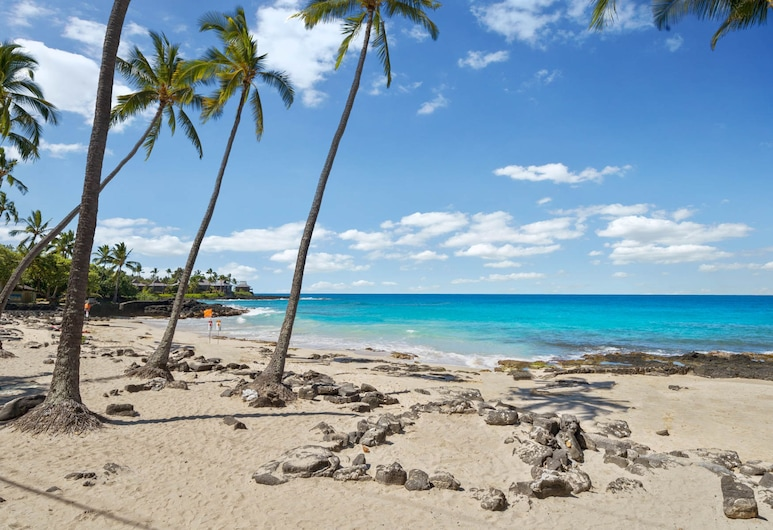 Big Island White Sands Village by Coldwell Banker Island Vacations, كايلو-كونا, شقة - غرفتا نوم, الشاطئ