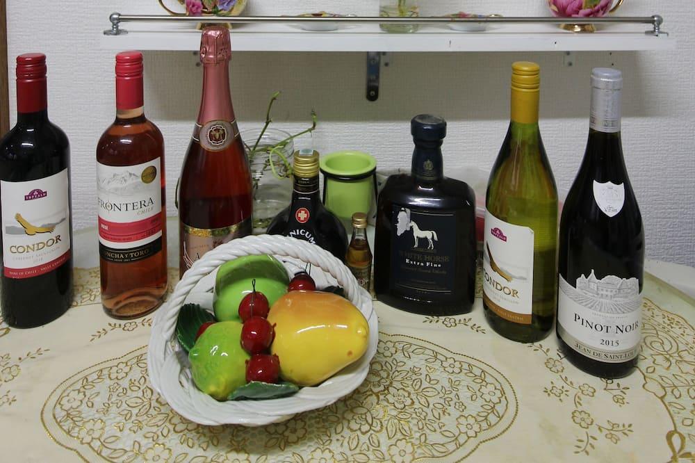 經濟雙人房 - 客房內用餐