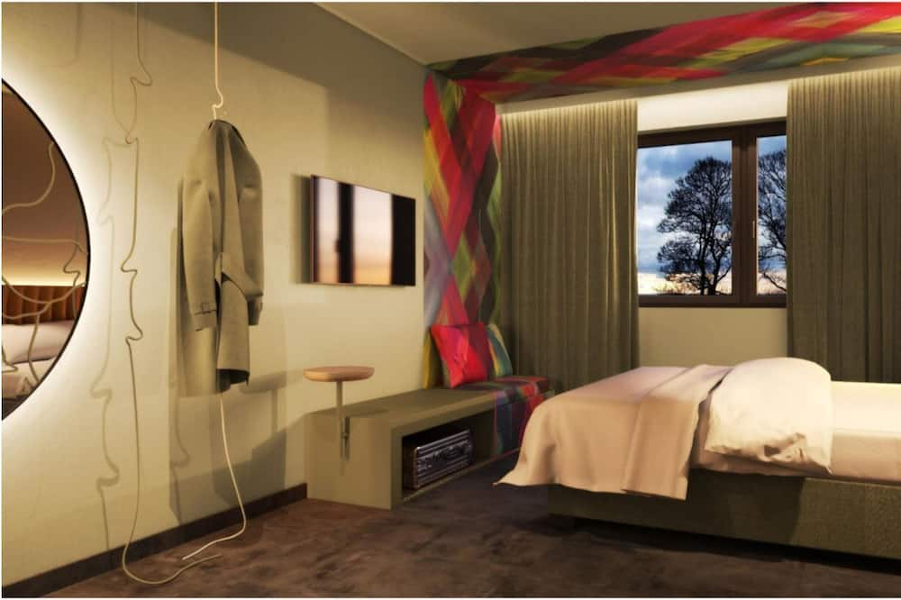 Standard-dobbeltværelse - 1 dobbeltseng - Opholdsområde