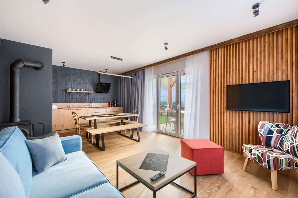 Apartament (F Delux) - Powierzchnia mieszkalna