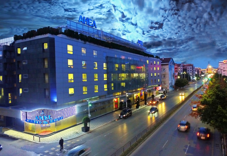 Hotel Anel, Sofia, Hotel Front – Evening/Night