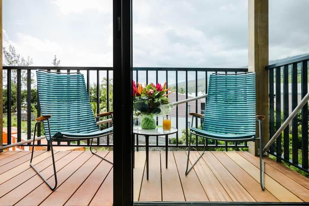 Apartemen, pemandangan laut (T3) - Teras/Patio