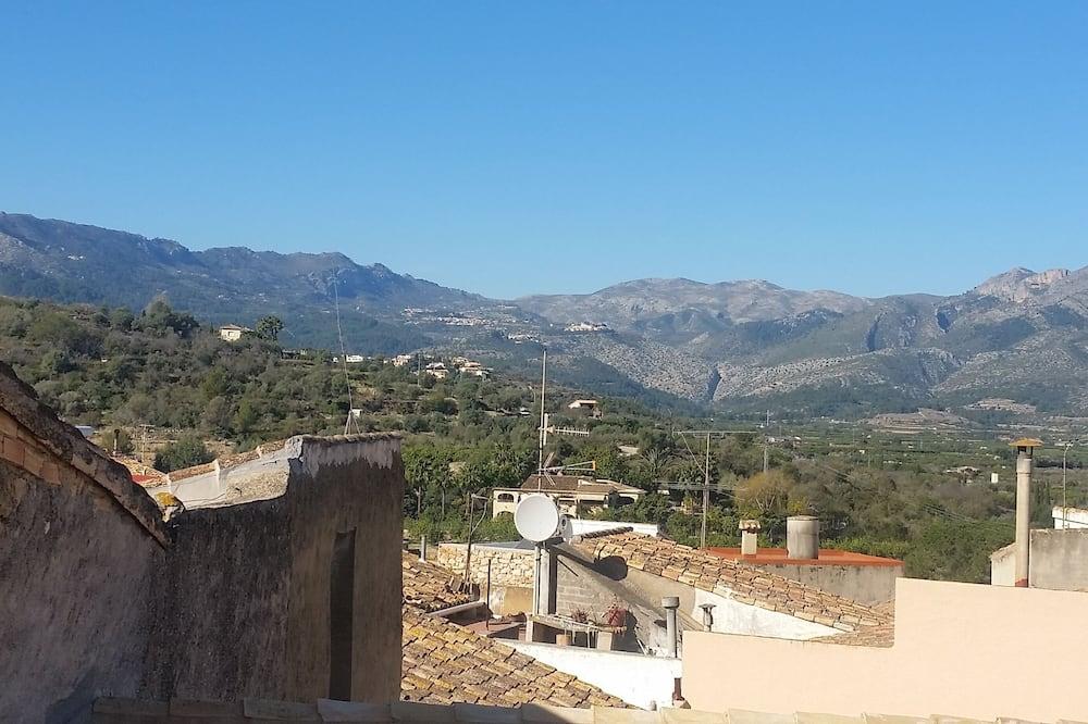 Traditionellt townhome - Bergsutsikt