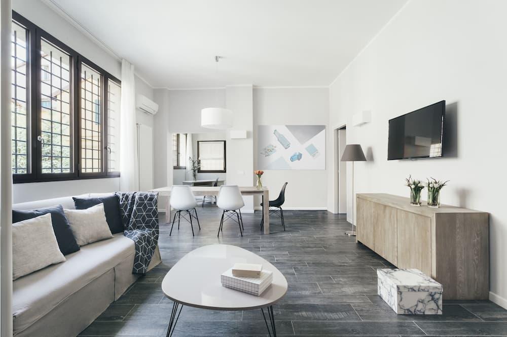 Апартаменти, 2 спальні, 2 ванни (ground floor) - Житлова площа