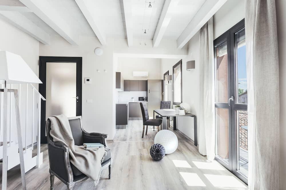Апартаменти, 2 спальні, 2 ванни - Житлова площа