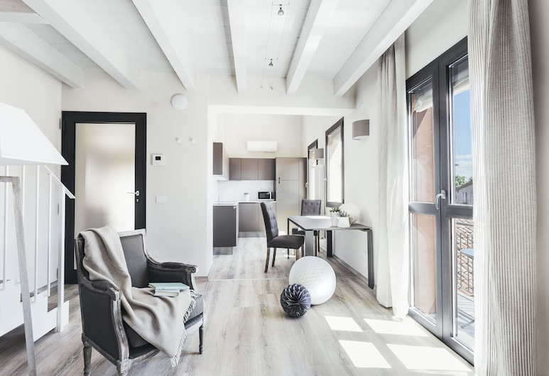 Residence Opera, Bolonia, Apartament, 2 sypialnie, 2 łazienki, Powierzchnia mieszkalna