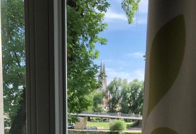 Brauereigaststätte Spitalgarten, Regensburg, Balkón