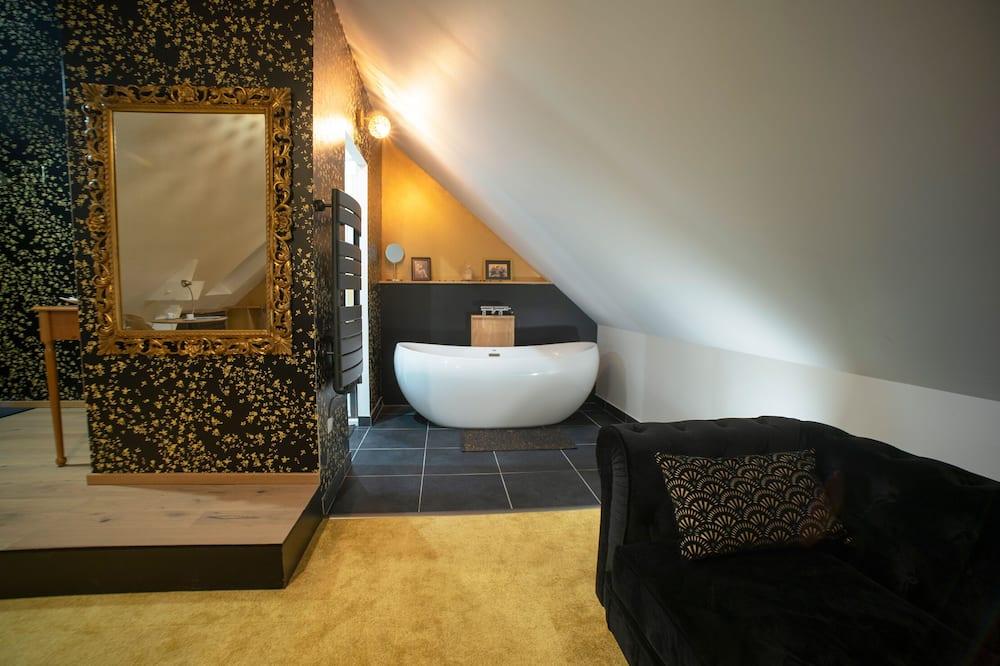 Premium Δίκλινο Δωμάτιο (Double), Μπάνιο στο δωμάτιο, Θέα στον Κήπο (Chambre « Années folles ») - Μπάνιο