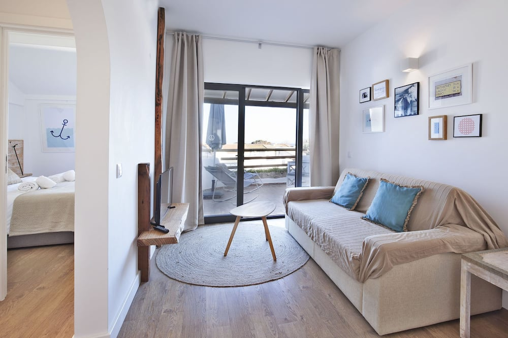 Apart Daire, 1 Yatak Odası, Okyanus Manzaralı - Oturma Odası