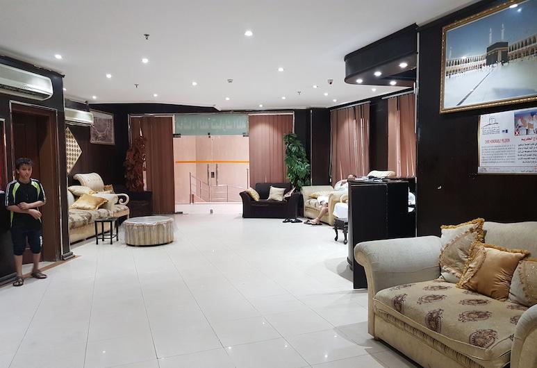 Arkan Al Safa Ajyad Hotel, Mecca, Sala de Estar do Lobby
