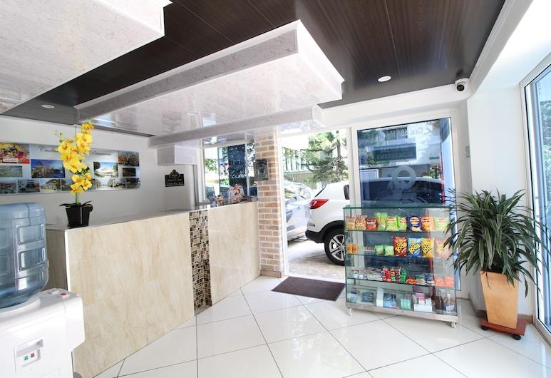 Hotel Pass, Medellin, Reception