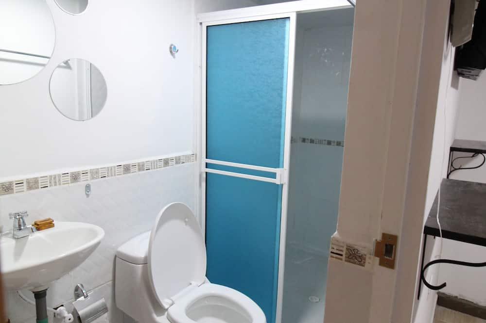 Ekonominės klasės trivietis kambarys - Vonios kambarys