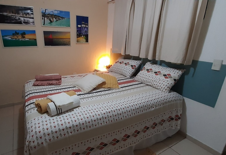 AP 305 na Aldeota Mobiliado e Aconchegante, Fortaleza, Δωμάτιο