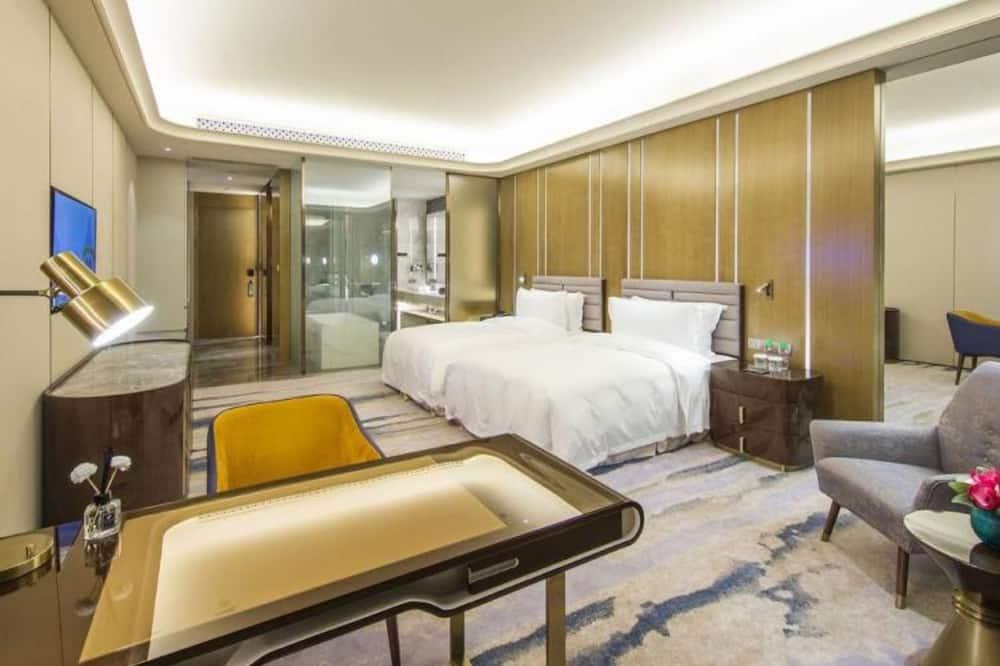 Business-Zweibettzimmer, Nichtraucher, Gartenblick - Zimmer